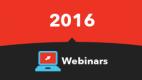 2016 Webinars