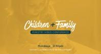 Children + Family Ministry Zoom Call - 11.2.20
