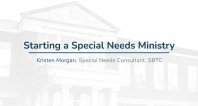 Special Needs Ministry | Starting a Special Needs Ministry