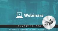 Sunday School Webinar pt 1