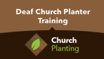 Deaf Church Planter Training